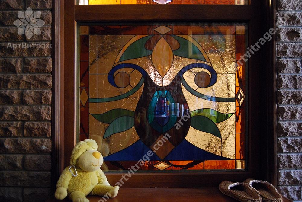 Входная группа и окно Тиффани