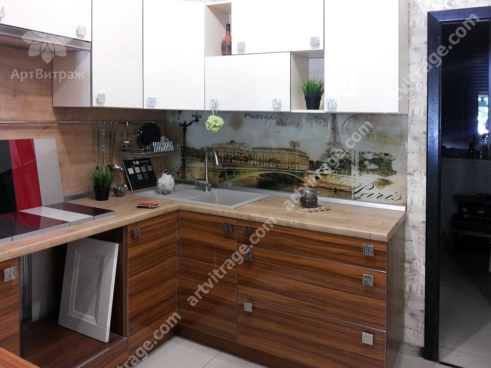 Кухонная панель «Париж»