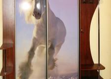 Шкаф-купе с фотовитражом «Белая лошадь»
