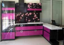 Фотовитраж для кухонного фасада «Сакура»