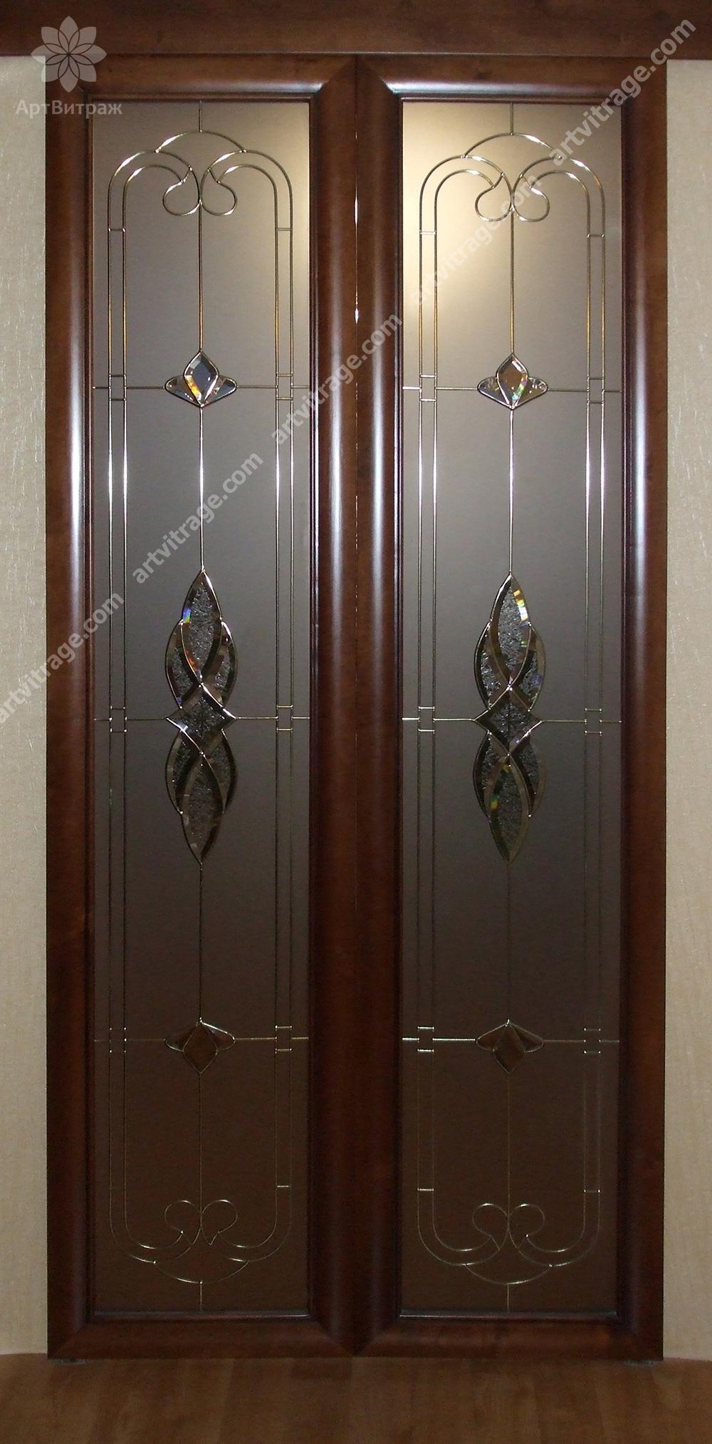 Эксклюзивные витражные двери