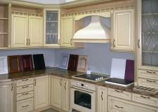 Кухонные фасады с Английскими витражами