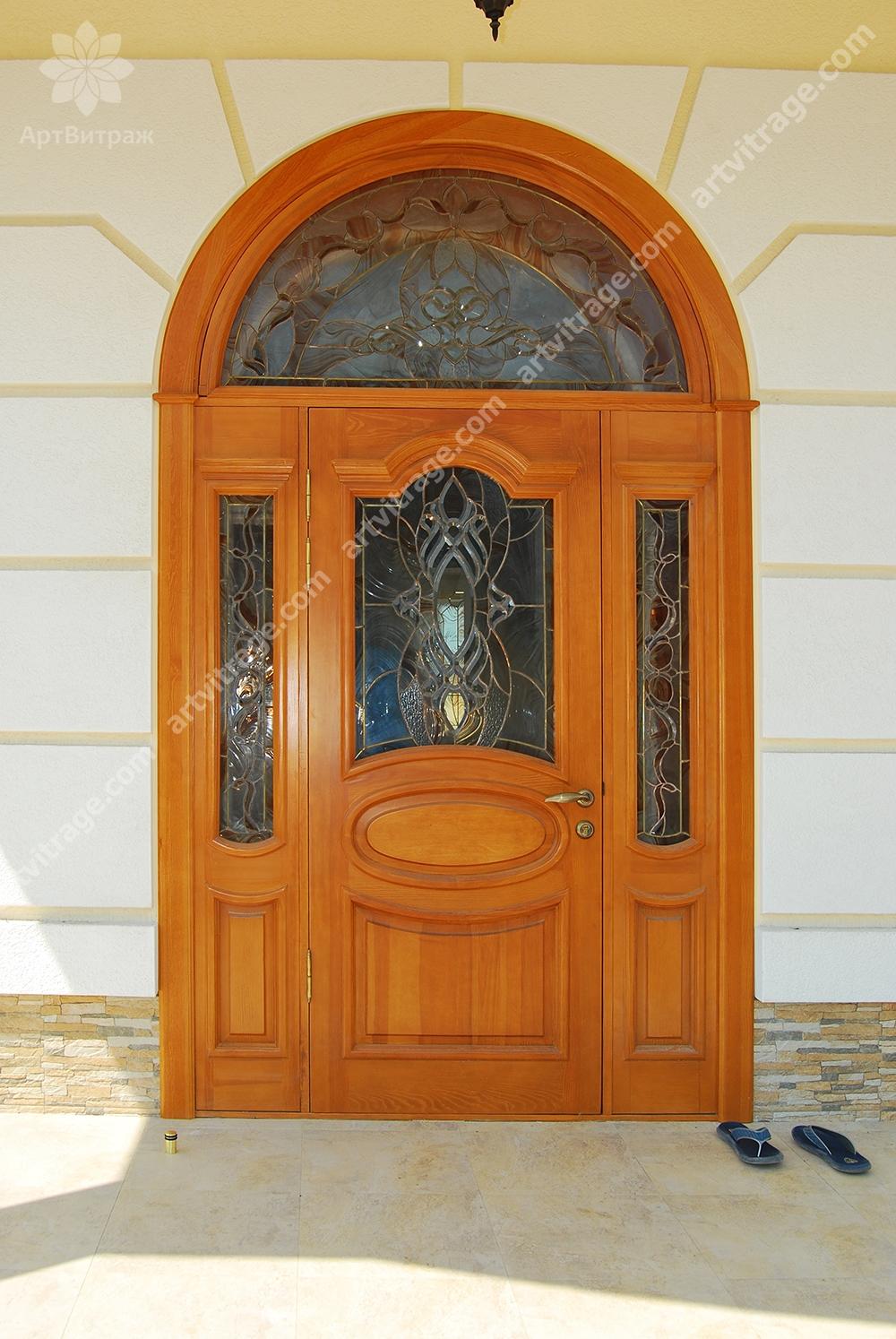 Входная группа и двери Тиффани