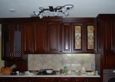 Кухонные фасады с витражами Тиффани