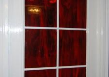 Художественное стекло в дверях
