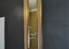 Зеркало с пескоструйным рисунком