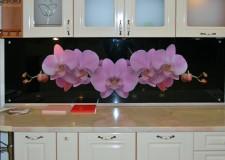 Кухонная панель «Орхидея»