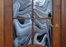 Дверной витраж «Барокко»