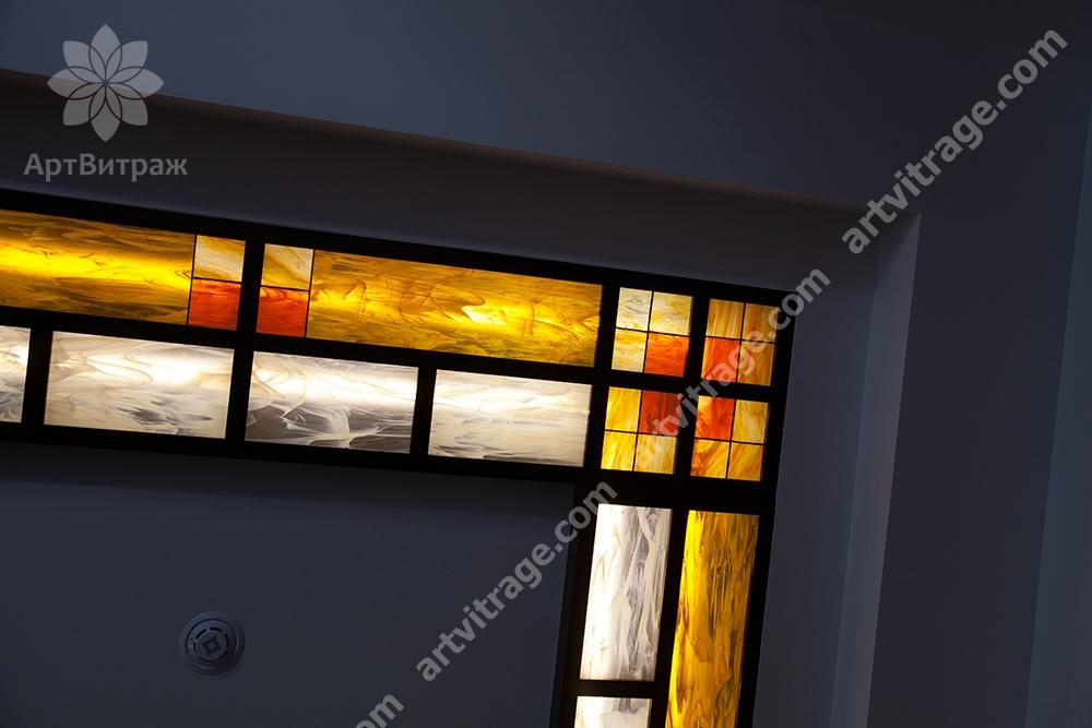 Витражный потолок Тиффани