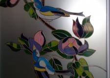 Шкаф-купе «Райские птицы»